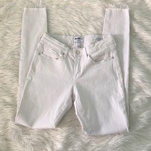 William Rast white skinny jeans